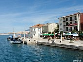 Waterfront in Pag